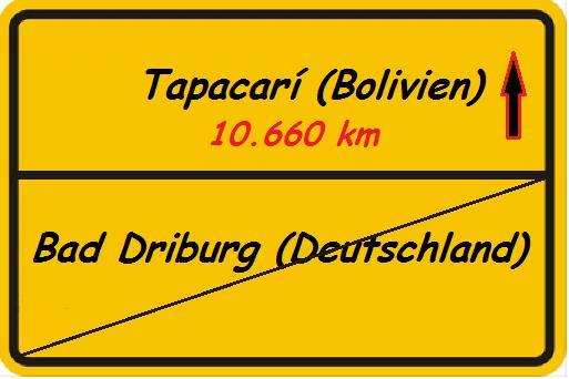 Tapacari (Schild)
